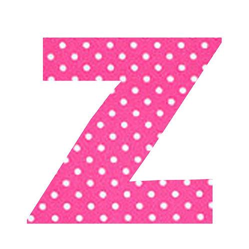 Z - Pink Polka Dot