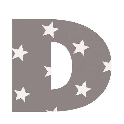 D - Grey Stars