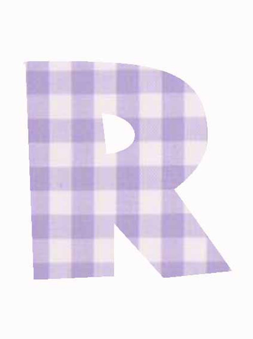 R - Lilac Gingham