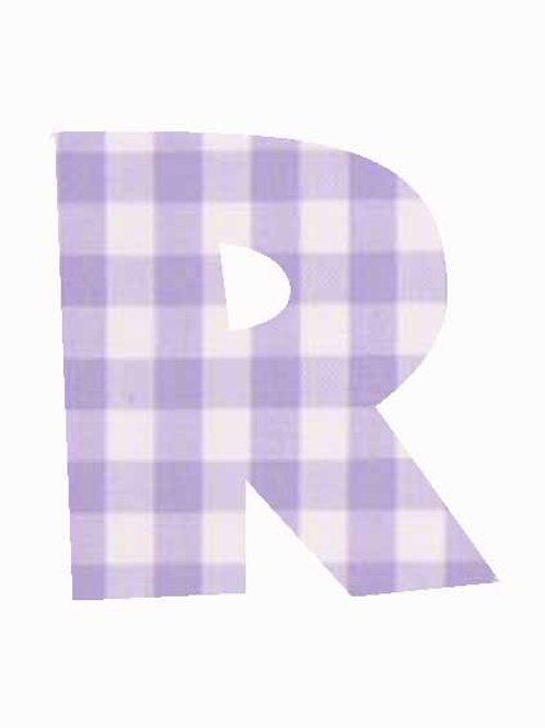 R - Lilac Gingham