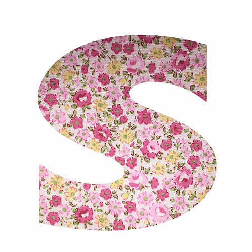 S - Pink Floral