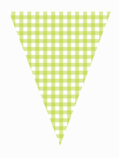 Flag - Green Gingham