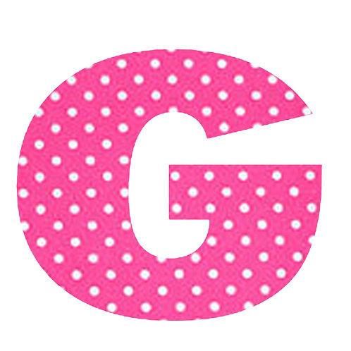 G - Pink Polka Dot