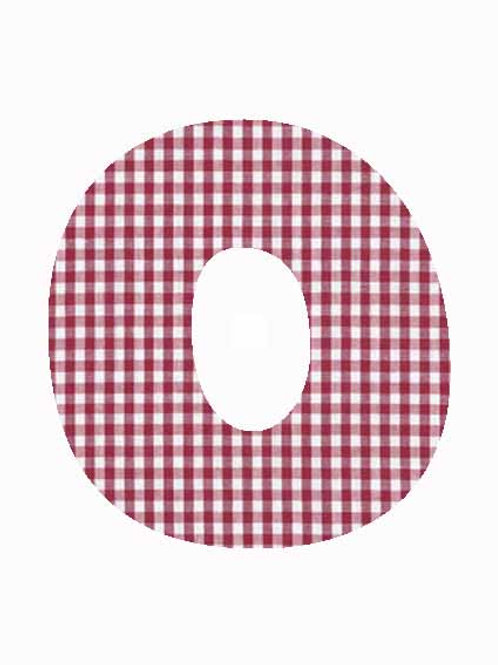 O - Red Gingham