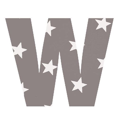 W - Grey Stars