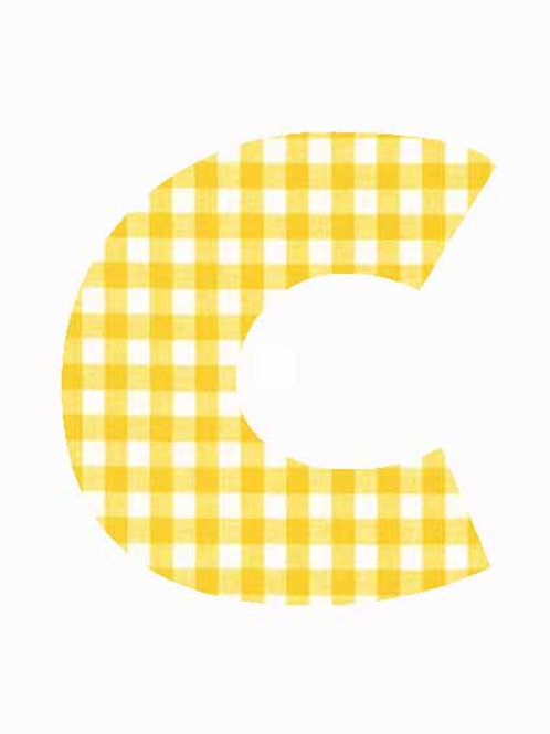 C - Yellow Gingham