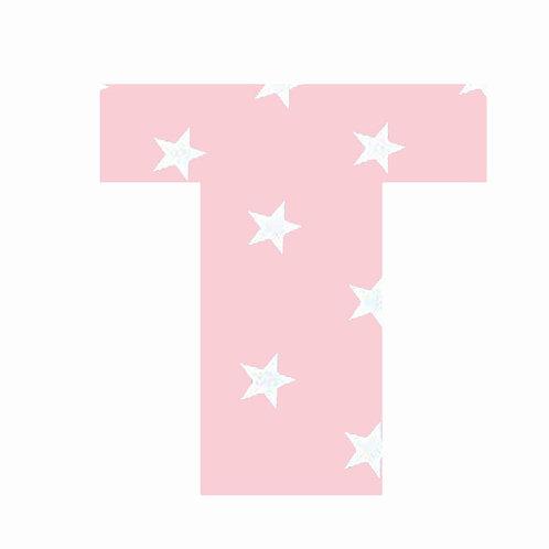 T - Pink Star