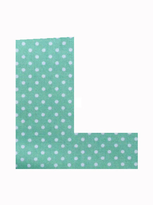L - Green Polka Dot