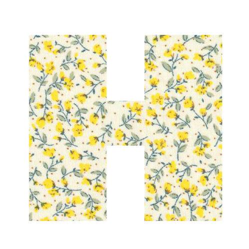 H - Yellow Flowers
