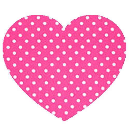 Heart - Pink Polka Dot
