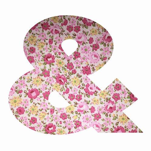 & - Pink Floral