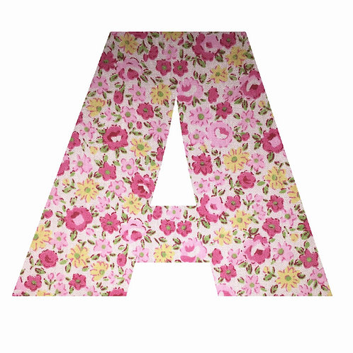 A - Pink Floral