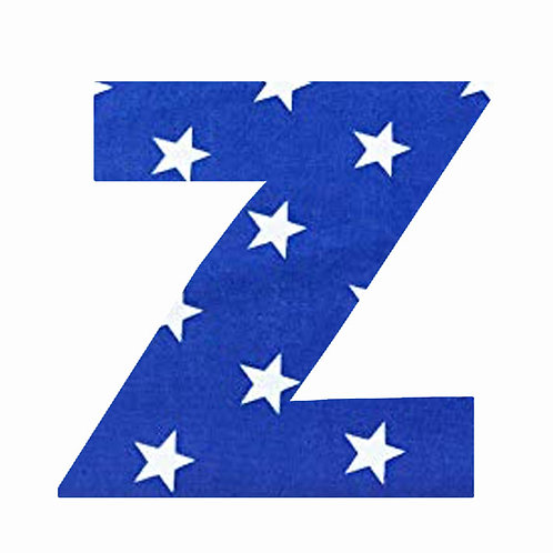Z - Dark Blue Star
