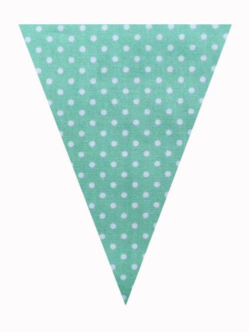 Flag - Green Polka Dot