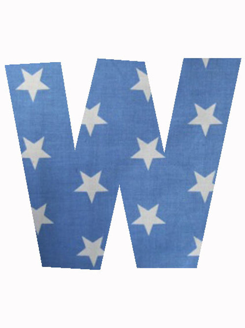 W - Blue Stars