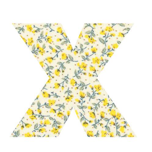 X - Yellow Flowers