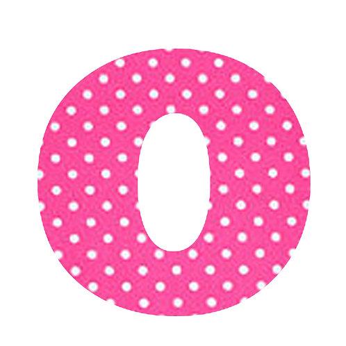 O - Pink Polka Dot