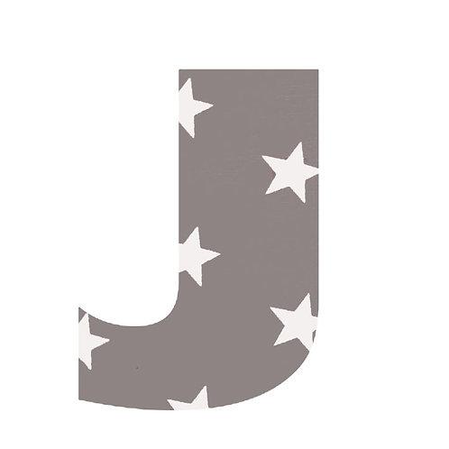 J - Grey Stars