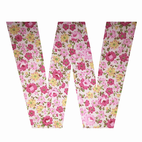 W - Pink Floral