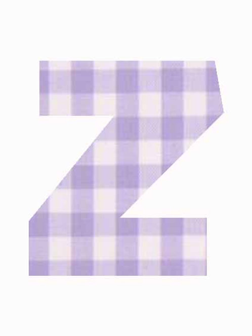 Z - Lilac Gingham