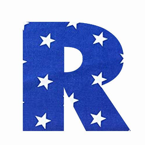 R - Dark Blue Star