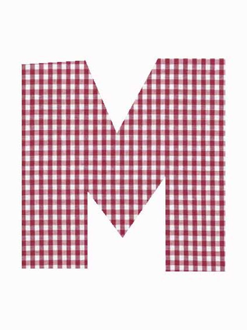 M - Red Gingham
