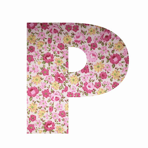 P - Pink Floral