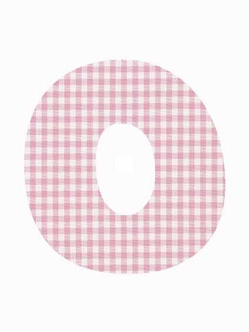 O - Pink Gingham