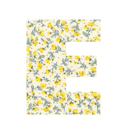 E - Yellow Flowers