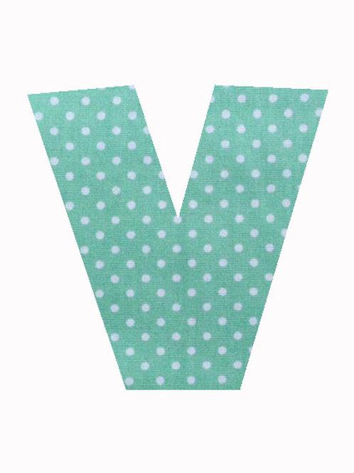 V - Green Polka Dot
