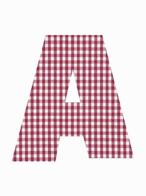 A - Red Gingham
