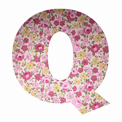 Q - Pink Floral