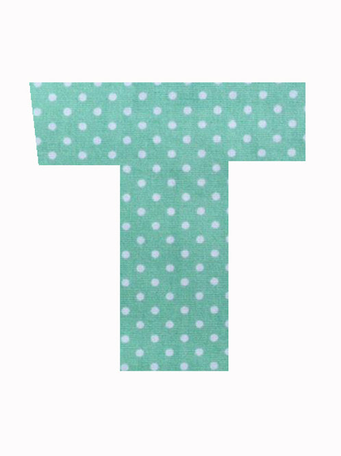 T - Green Polka Dot