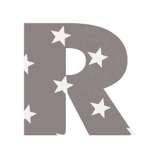 R - Grey Stars