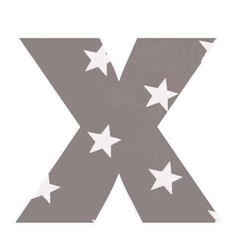 X - Grey Stars