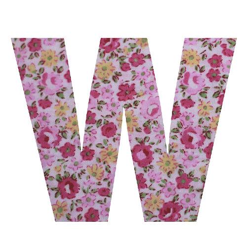 W - Pink Rose