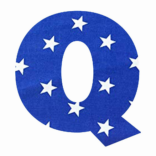 Q - Dark Blue Star