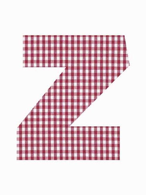 Z - Red Gingham