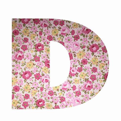 D - Pink Floral