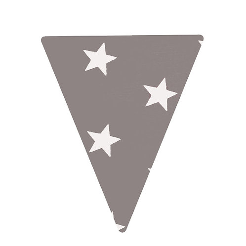 Flag - Grey Stars