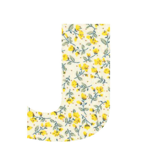 J - Yellow Flowers