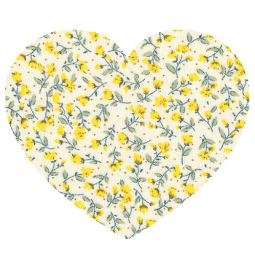 Heart - Yellow Flowers