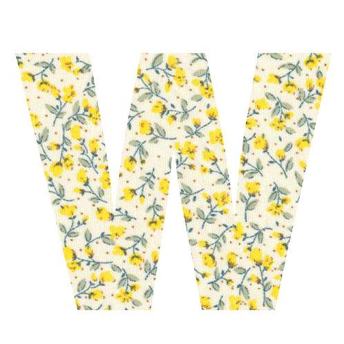 W - Yellow Flowers