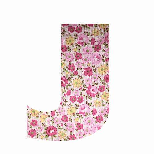 J - Pink Floral