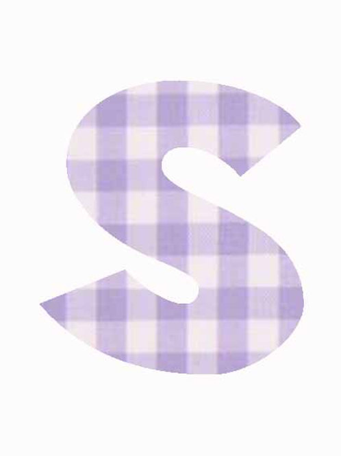S - Lilac Gingham