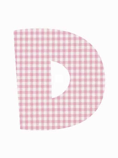 D - Pink Gingham
