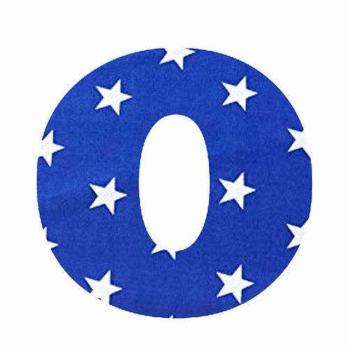 O - Dark Blue Star
