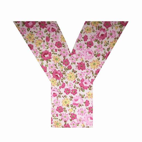 Y - Pink Floral