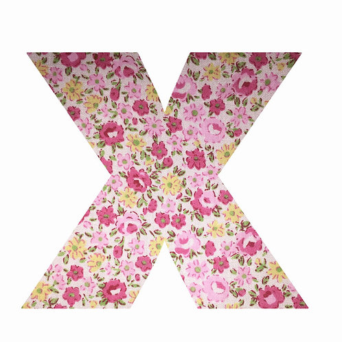 X - Pink Floral