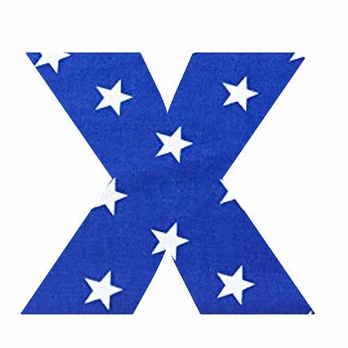 X - Dark Blue Star